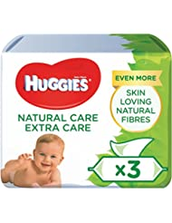Huggies Natural Care Extra Care Skin Loving Baby Wipes