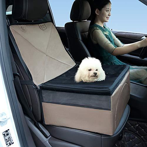 YMNL Hunde Autositz Hundetasche Für Autositz Einzelnsitz Für Rückbank Wasserdicht Hund Autositzbezug Autositz Für Haustier Abriebfest Hund Sitzbezug Autoschutzdecke Hunde Auto Hundedecke Hunde
