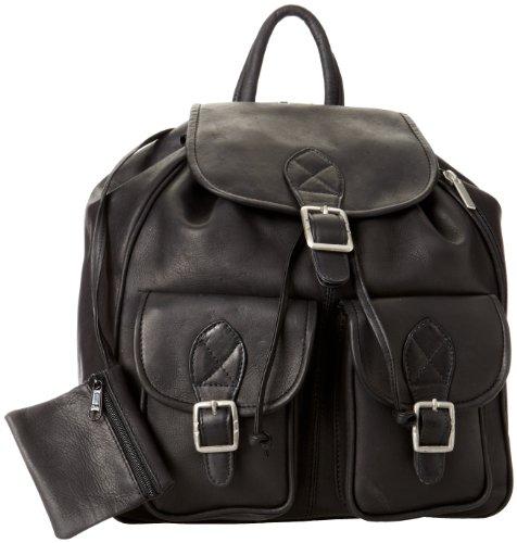 david-king-co-doppelfronttasche-rucksack-schwarz-one-size