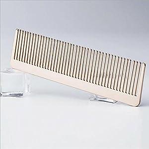 CHUANGJIE Comb ® Alloy Kamm Haarpflege Kamm Metall-Handwerk Ornamente Geschenke Werden Geschenke
