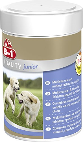 8 in 1 Vitamine per Cani Cuccioli - 185 ml