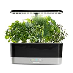 Idea Regalo - AeroGrow Aerogarden Harvest Slim Giardino, Nero