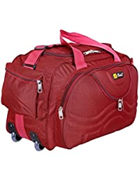 Generic Choice Fabric Multipurpose Duffle Bag (Red)