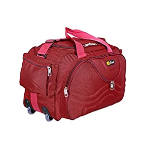 Generic Choice Fabric Multipurpose Duffle Bag (Red)