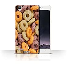 Stuff4 Phone Case/Cover/Skin/oppf1/cereales para el desayuno Collection Fruit Loops