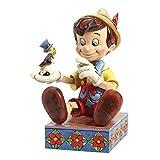 Disney Traditions Pinocchio 75. Jahrestag Figur, Mehrfarbig