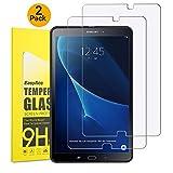 EasyAcc Samsung Galaxy Tab A 10.1 Schutzfolie [2 Stück] Glas Folie Panzerfolie for Samsung Galaxy Tab A 10.1 T580N/T585N Klar Anti-Kratz Displayfolie - 9H Hardness aus gehärtetem Glas
