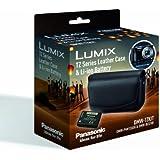 Panasonic DMW-TZKIT Kit étui en cuir et batterie pour appareil photo (Import Royaume Uni)