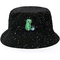 Yunbai Pescador sombrero del algodón del sombrero al aire libre Mujer Cap del sombrero de los deportes del sombrero del cubo de pesca sombrero del sol del sombrero de Hip Hop cuenca del sombrero del v