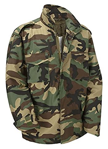 Unknown - Blouson - Homme - Multicolore - XXXX-Large - Army Surplus Camouflage