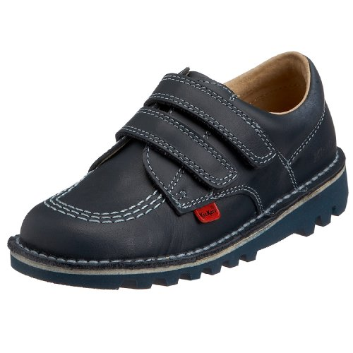 Kickers Kick Lo Vel Boys' School Shoes - Black, 8 Child UK...