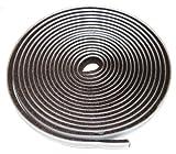 Aerzetix: Isolation Streifen Isolierband 5m Braun für Fenster oder Türen