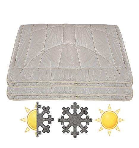 Bettdecke 100% ALPAKA–4Jahreszeiten, 140 x 200 cm
