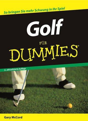 Golf Fur Dummies (F??r Dummies) by Gary McCord (2007-04-05)