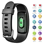 AUSUN Fitness Tracker 107HR Plus Waterproof Heart Rate Wristband With Multi Sports Mode Swimming Smart Watch