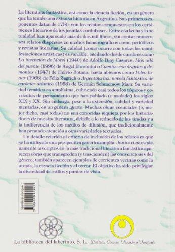 Cuentos Fantásticos Argentinos Del Siglo XIX (Delirio)