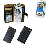 Portemonnaie Schutz Hülle für MobiWire Taima, schwarz aus