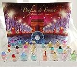 Eau de Parfum Adventskalender 24 Glas Miniaturen Parfüm Damen Weihanchtskalender CHARRIER Parfums LIMITED Edition Kalender 2018 Mini Flacons