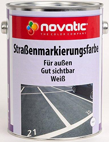 novatic Straßenmarkierungsfarbe, 750ml - reinweiß