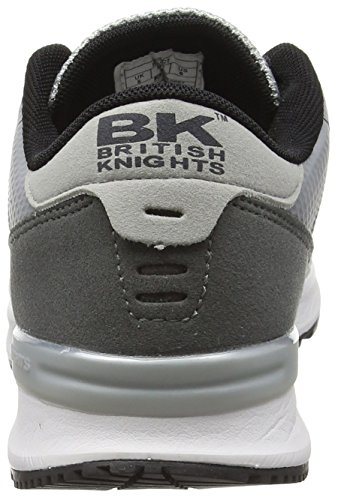 British LT Impact Damen Knights Grey DK Grey Sneakers Grey Grau 02 rOr74qxP