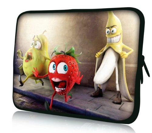 Luxburg® Design Laptoptasche Notebooktasche Sleeve für 15,6 Zoll (auch in 10,2 Zoll | 12,1 Zoll | 13,3 Zoll | 14,2 Zoll | 15,6 Zoll | 17,3 Zoll) , Motiv: Oh my God Banane