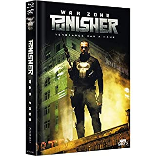 The Punisher (W.Z.) - Limited Extended/Uncut Mediabook - Cover C - DVD - Blu-ray