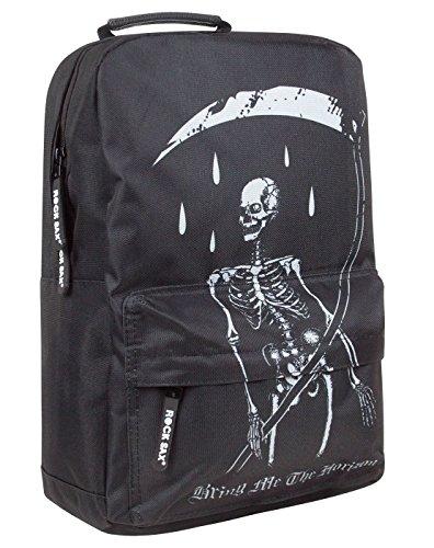 Bring Me The Horizon Rock Sax Skeleton Backpack -