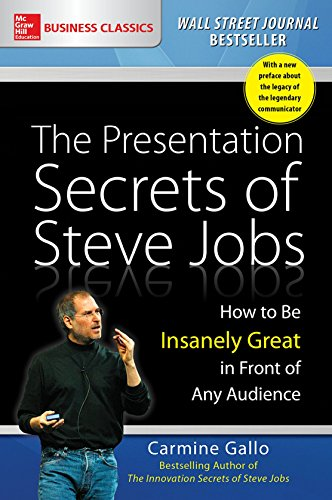 The Presentation Secrets of Steve Jobs: How to Be Insanely Great in Front of Any Audience por Carmine Gallo
