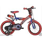 Kinderfahrrad Fahrrad Kinder Fahrrad Dino Spiderman 16-Jahre 4–5rot blau