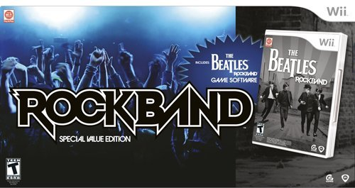 Wii The Beatles: Rock Band Special Value Edition by MTV Games