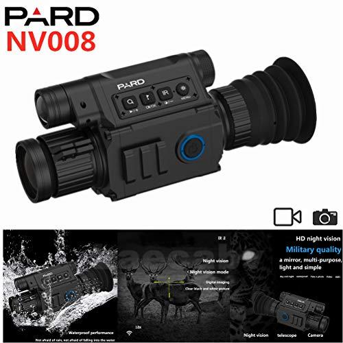 Pard NV008 Night & Day Zielfernrohr HD 308 Caliber Proof 200M Range Night Zielfernroh 6.5-12X IR Nac (NV008)