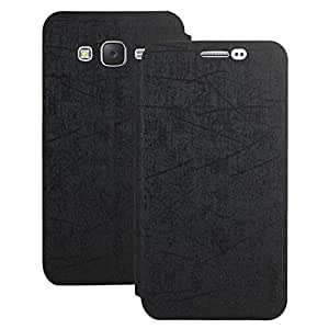 Heartly Premium Luxury PU Leather Flip Stand Back Case Cover For Samsung Galaxy J5 2015 SM-J529F - Best Black