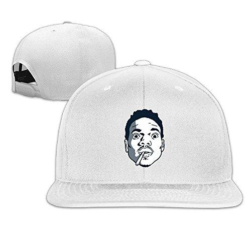 thna-chance-le-rappeur-acide-rap-rglable-fashion-casquette-de-baseball-blanc-taille-unique