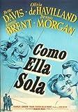 Como Ella Sola (B.Davis) (Import Dvd) (2008) Bette Davis; Olivia De Havilland;