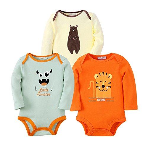 Sanlutoz Baby Junge Kleidung Neugeborenes Body Baby Mädchen Jumpsuit Unisex 3 Pack (0-6 Monate, - Halloween-kostüme Niedliche Schwester