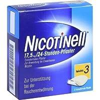 Preisvergleich für NICOTINELL 17.5MG 24 STD 21St Pflaster transdermal PZN:110065
