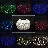 Solalite Colour Changing LED Garden Solar Filigree Table Light
