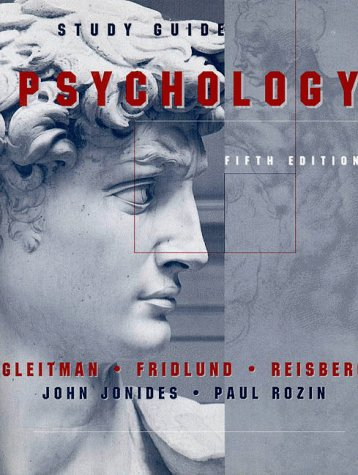 Psychology: Study Guide Fifth Edition: Study Guide to 5r.e