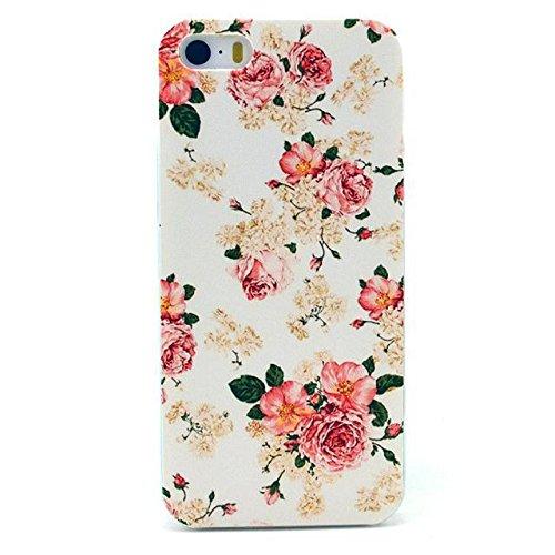 PowerQ [ per Iphone 5S 5G 5 IPhone5 IPhone5S - 14 ] la stampa del modello di plastica caso del modello di serie del sacchetto stampa cassa del telefono mobile di plastica colorata di disegno della pel 19