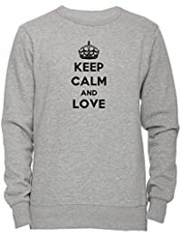2fdbe0a60918d Keep Calm And Love Lindy Hop Unisexe Homme Femme Sweat-shirt Jersey  Pull-over