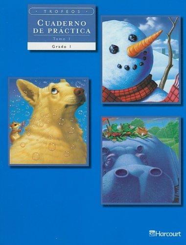 Trofeos: Cuadernos de Práctica, Volume 1 Grade 1