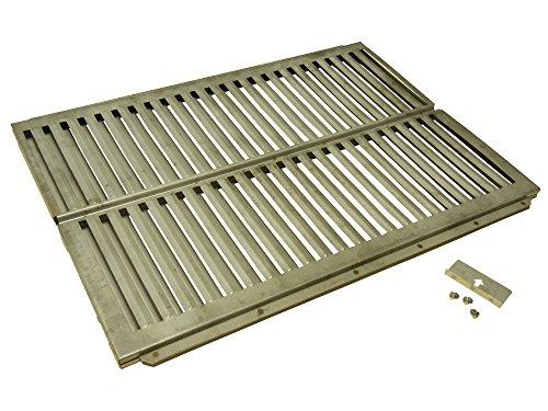 Music City Metals 99161 Plaque de cuisson en acier inoxydable pour les grills à gaz de la marque Ducane- Argent