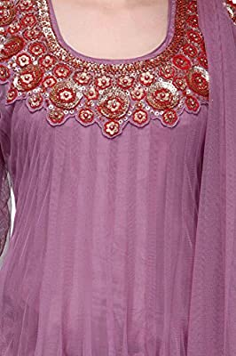 Aujjessa Women's Anarkali Salwar Suit Set