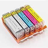 Inkway PGI-550 CLI-551 cartucce d' inchiostro commestibile per Canon...