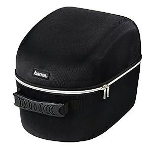 Hama Tasche für Playstation (VR Virtual Reality, Case zur Aufbewahrung von Brille, Headset, Kabel, Adapter, PS 4 Kamera, Kopfhörer, Zubehör, robustes Hardcase, stoßfest) schwarz
