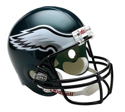 NFL   Deluxe Replica Football Helm Philadelphia Eagles