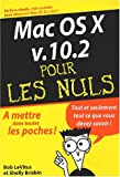 Mac OS X v. 10.2 pour les nuls