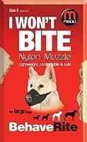 Mikki Muselière de dressage pour chien Taille 3