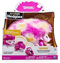 Zoomer Hedgiez, Whirl, Interactive Hedgehog with Lights, Sounds and Sensors, by Spin Master