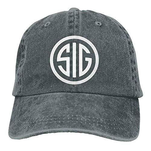 Preisvergleich Produktbild Best SIG SAUER Adult Retro Adjustable Casquette Cap Dad Trucker Hat